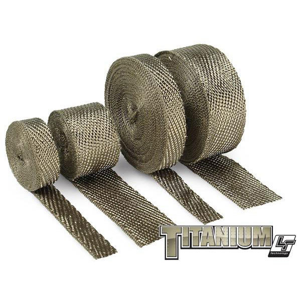 "Design Engineering Titanium� Exhaust Header Wrap, 2.00"" x 25 Ft."