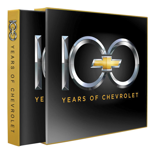 100 Years of Chevrolet book, Limited Edition Copy