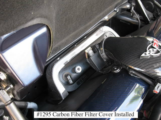 C5 Corvette Cold Air Intake Cover, Blackwing, Carbon Fiber, The Chiller