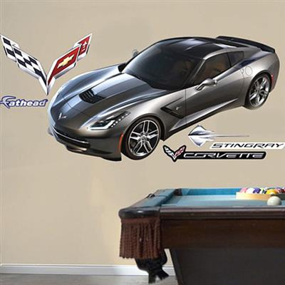 C7 Corvette C7 Logo Fathead Large Decal / Graphics Package