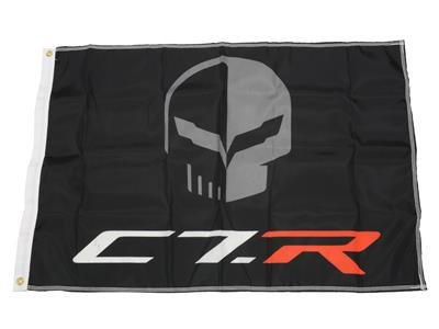 C7 Corvette Flag - Jake And C7.R Corvette Racing 2.5' x 3.5' Polyester Flag