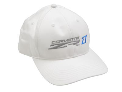 C7 Corvette 2019 ZR1 White Hat, Cap Structured Twill