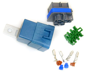 Sealed Relay SPST KIT 30 AMP 12 Guage