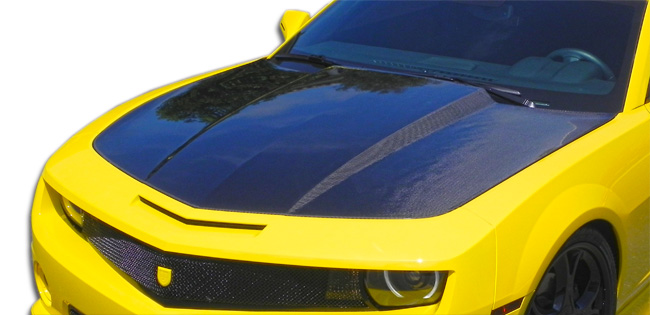 2010-2013 Chevrolet Camaro Carbon Creations OEM Style Hood Carbon Fiber