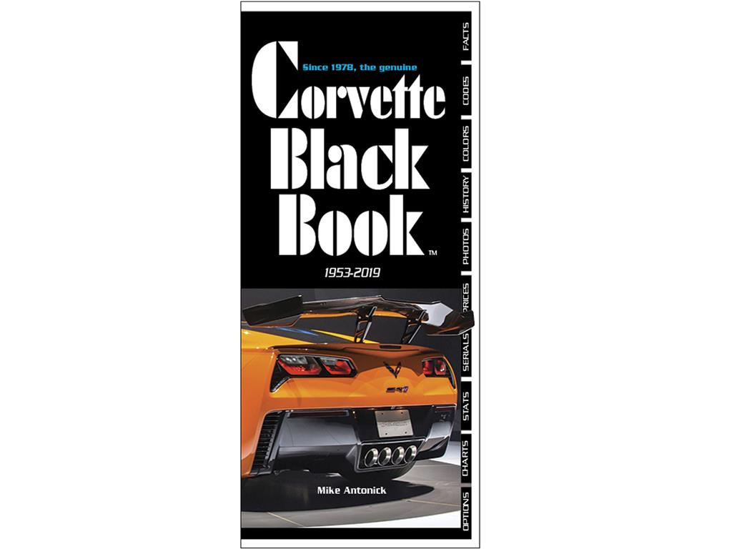 1953 To 2019 Corvette Black Book, Corvette Black Book's 42nd year