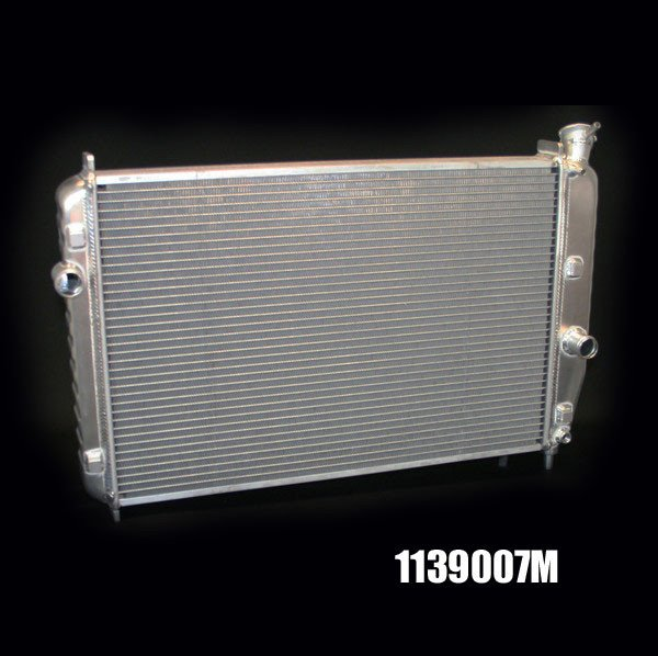 "1993-02 Camaro Dewitts Direct Fit All Aluminum Radiator, Automatic - HP SERIES (2 ROW 1.25"" TUBES)"
