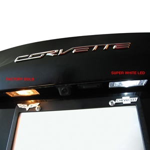 2014+ C7 Corvette Rear Hatch & License Plate LED Lighting Kit