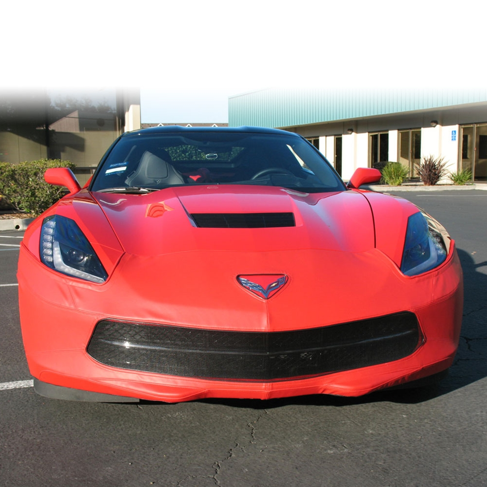 2014 C7 Corvette Stingray Speed Lingerie Super Bra, Nose Cover, Color Matched