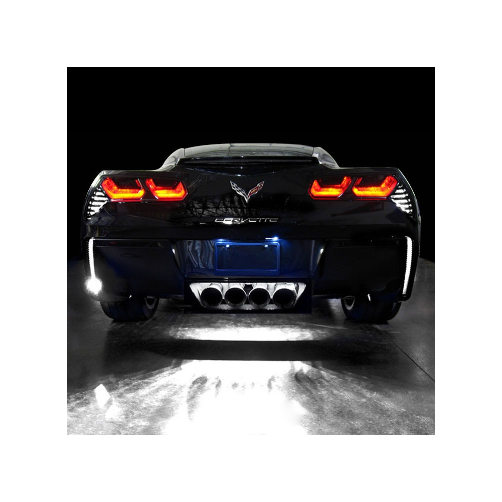 2014 C7 Corvette Rear Facia LED Lighting Kit, Normal Brightness
