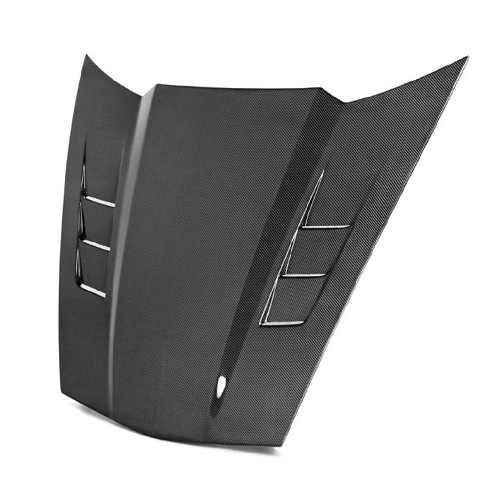 All 2005-2013 C6, Z06, Grand Sport Corvette TS-Style Carbon Fiber Hood