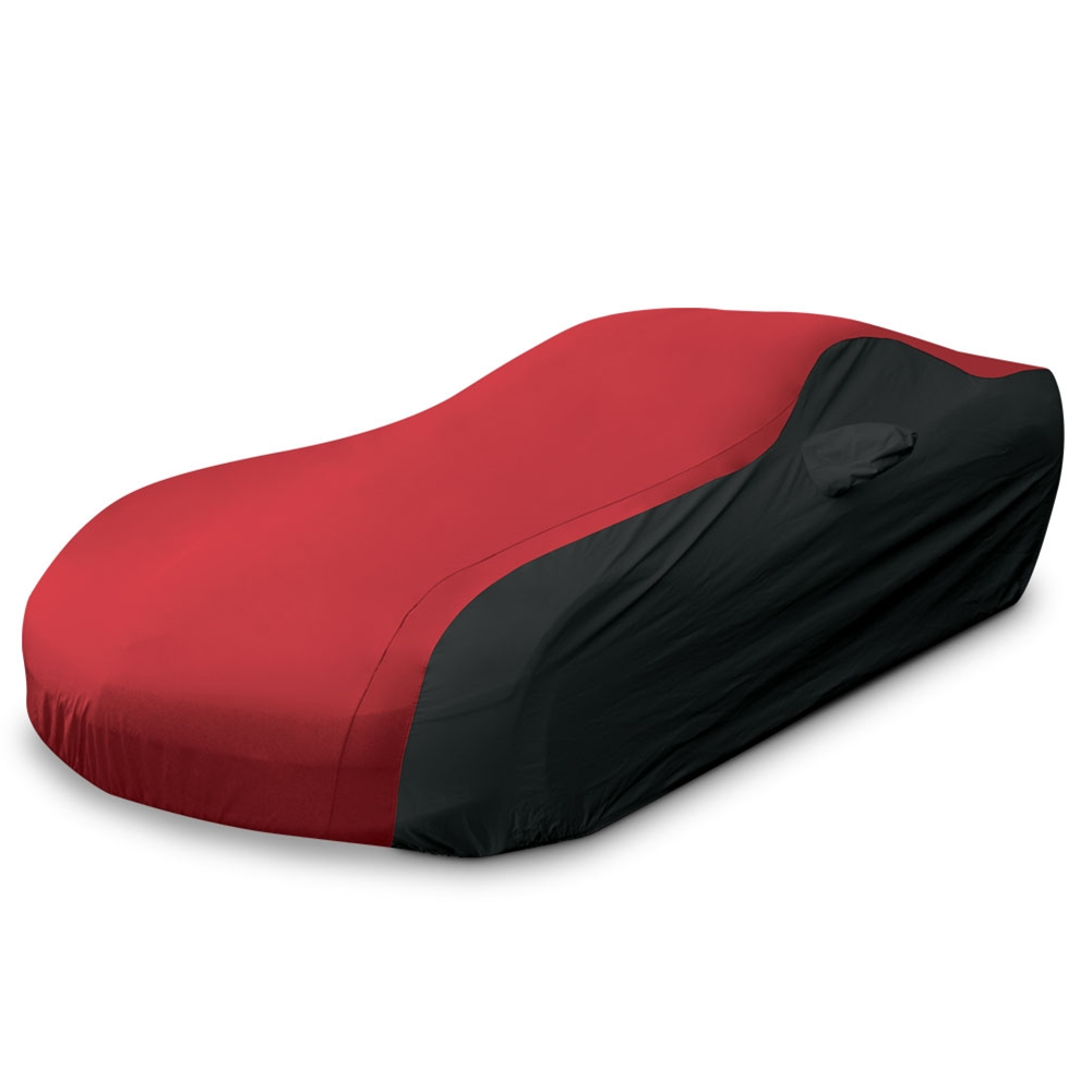 1997-2004 C5 & Z06 Corvette Ultraguard Car Cover, Indoor/Outdoor Protection, Red/Black
