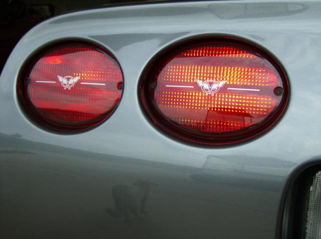 C5 CORVETTE Tail Light & 3rd Brake Lens Decal Package