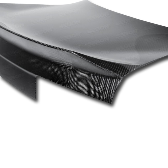 2010-2014 Chevrolet Camaro ST-Style Carbon Fiber Trunk Lid with integrated spoiler