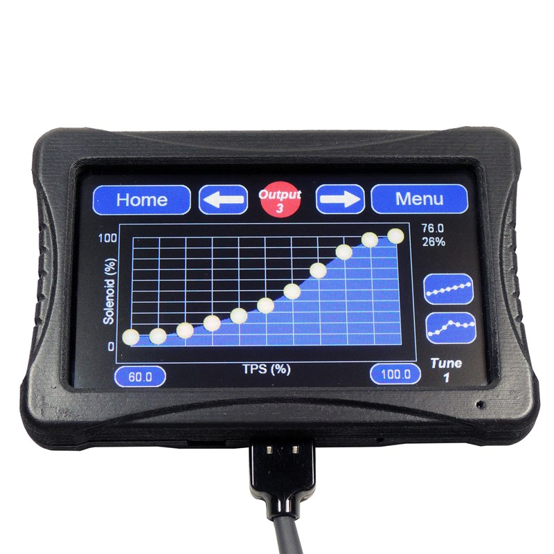 Corvette, Camaro Maximizer 5 Progressive Nitrous Controller Touch Screen Display from Nitrous Express