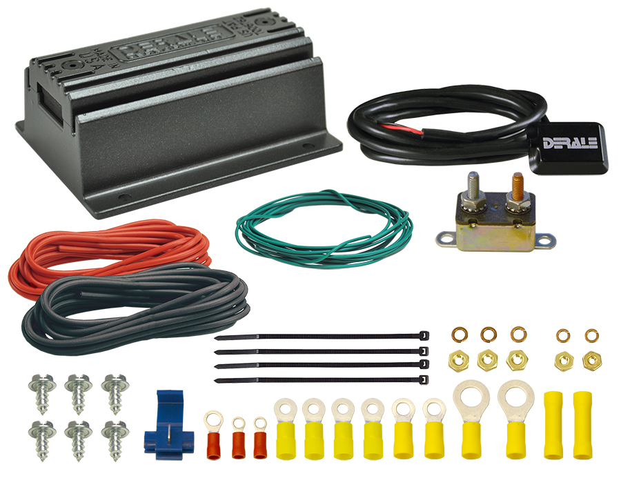 Derale Performance PWM Fan Controller; Push In Probe, Universal for Corvette, Camaro and Others