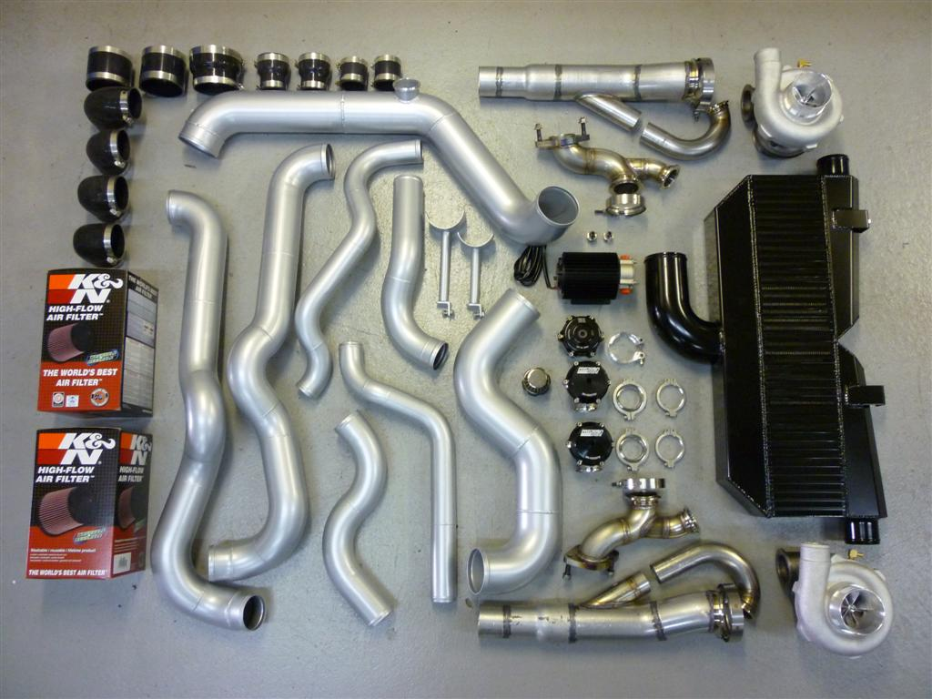 Granatelli 2010-2013 Camaro Twin Turbo Kit