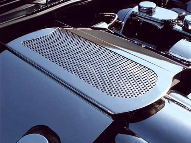 2005-13 C6 Corvette Stainless Steel Perforated Plenum Cover
