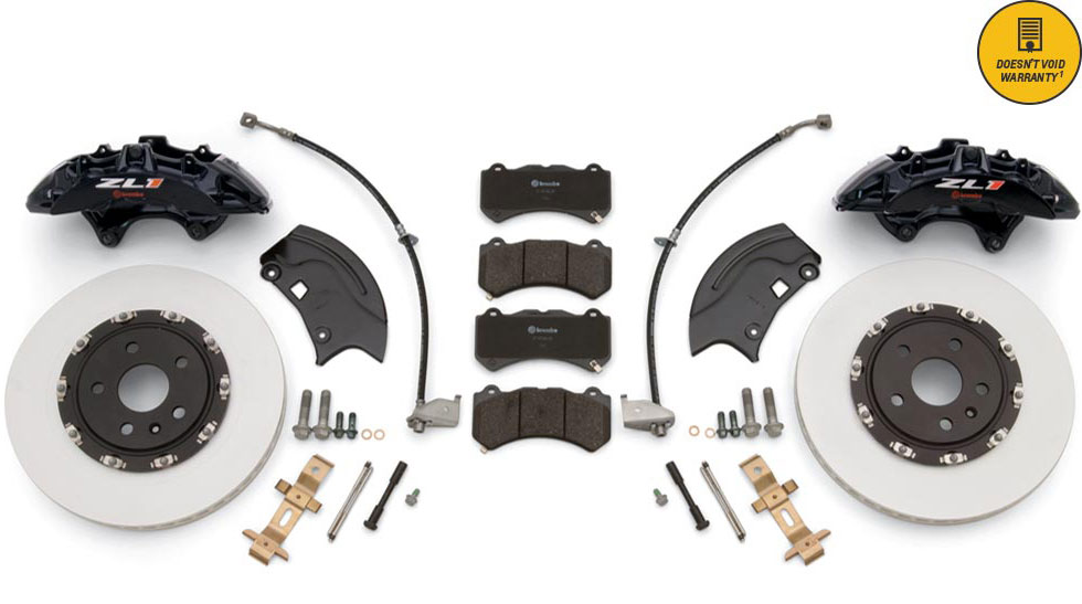 "2010-2015 Camaro GM OEM GMPP ZL1 BREMBO Front Brake Upgrade Kit, 14.6"", 6 Piston"