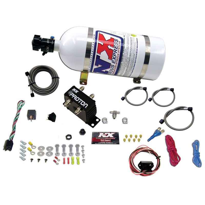 Corvette Nitrous Express Proton Plus Drive by Wiire Kit with 10 lbs Bottle Complete Wet Plate System