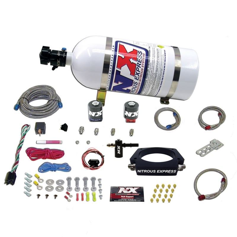 C7 Corvette Nitrous Express Kit without Bottle Complete Wet Plate System for LT1