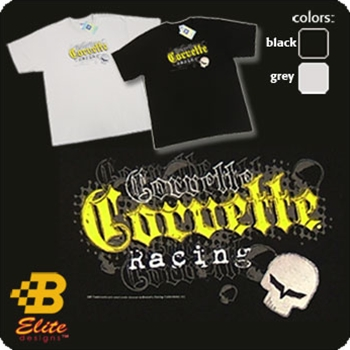 """Jake"" Corvette Racing Embroidered and Screen Printed Tee"