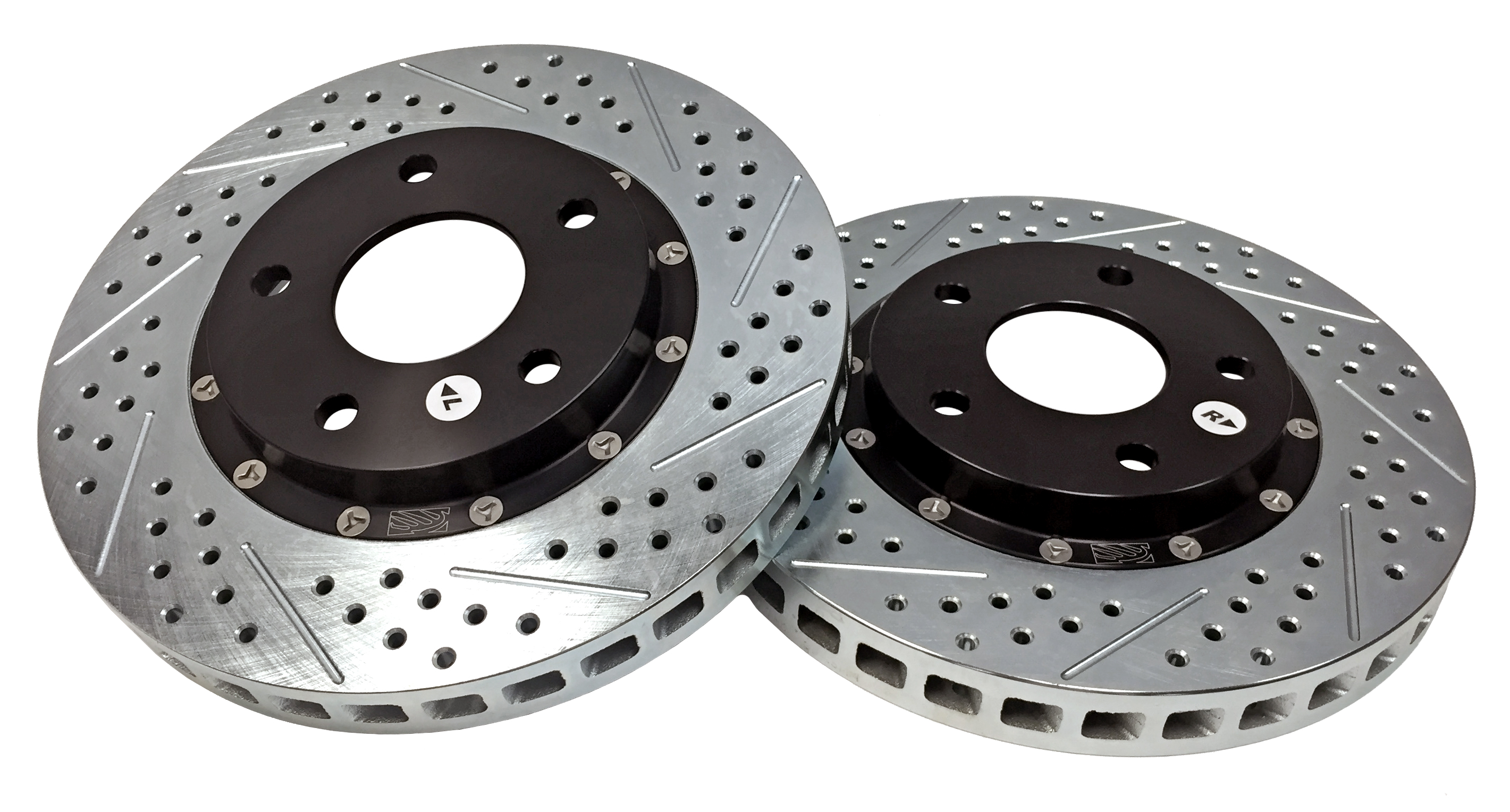 2010 Chevrolet Camaro SS Front Brake Components EradiSpeed+ Rotors  SDZ