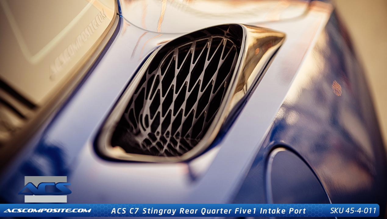 C7 Corvette Stingray Rear Quarter Five1 Intake Port, Z06