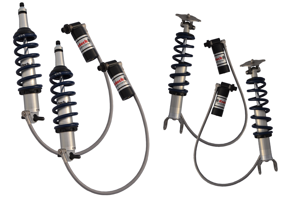 1997-2013 C5 or C6 Corvette - RideTech TQ CoilOver Shock System- Level 3