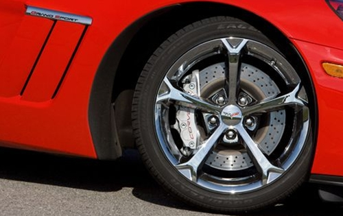 2010 Grand Sport Corvette Chrome Wheels (Outright) Genuine GM