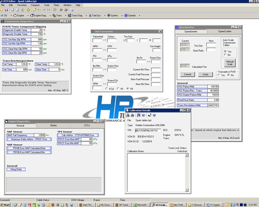 HP TUNERS MPVI2 Suite Credits Only, 1 Credit, Universal for all vehicle Manufactures
