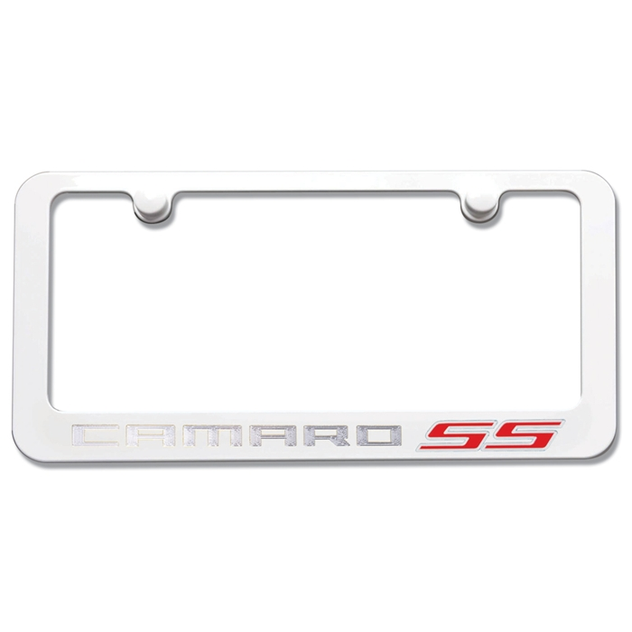 Camaro SS Exterior Custom Painted Color License Plate Frame