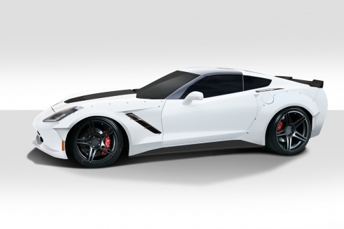2014-2017 Corvette C7 Duraflex Gran Veloce Wide Body Kit - 6 Piece