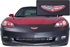 C6 Corvette CoverCraft LeBra Bra, Nose Mask, Front End Cover, Black Vinyl