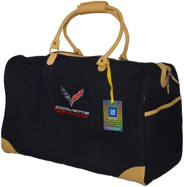 C7 Corvette, Corvette Racing Logo, Travel Bag Luggage