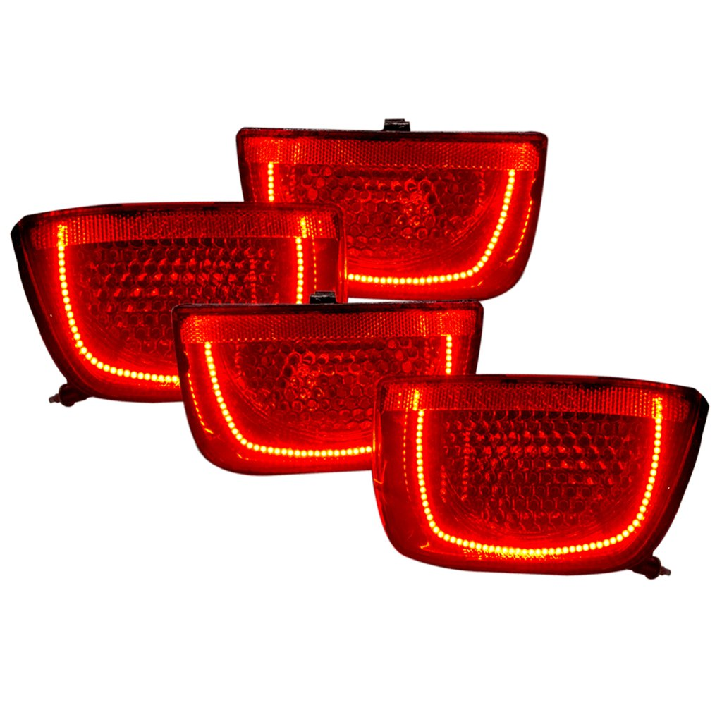 2010-2013 Chevy Camaro PLASMA LED Pre-Assembled Tail Lights Non RS Afterburner 2.0