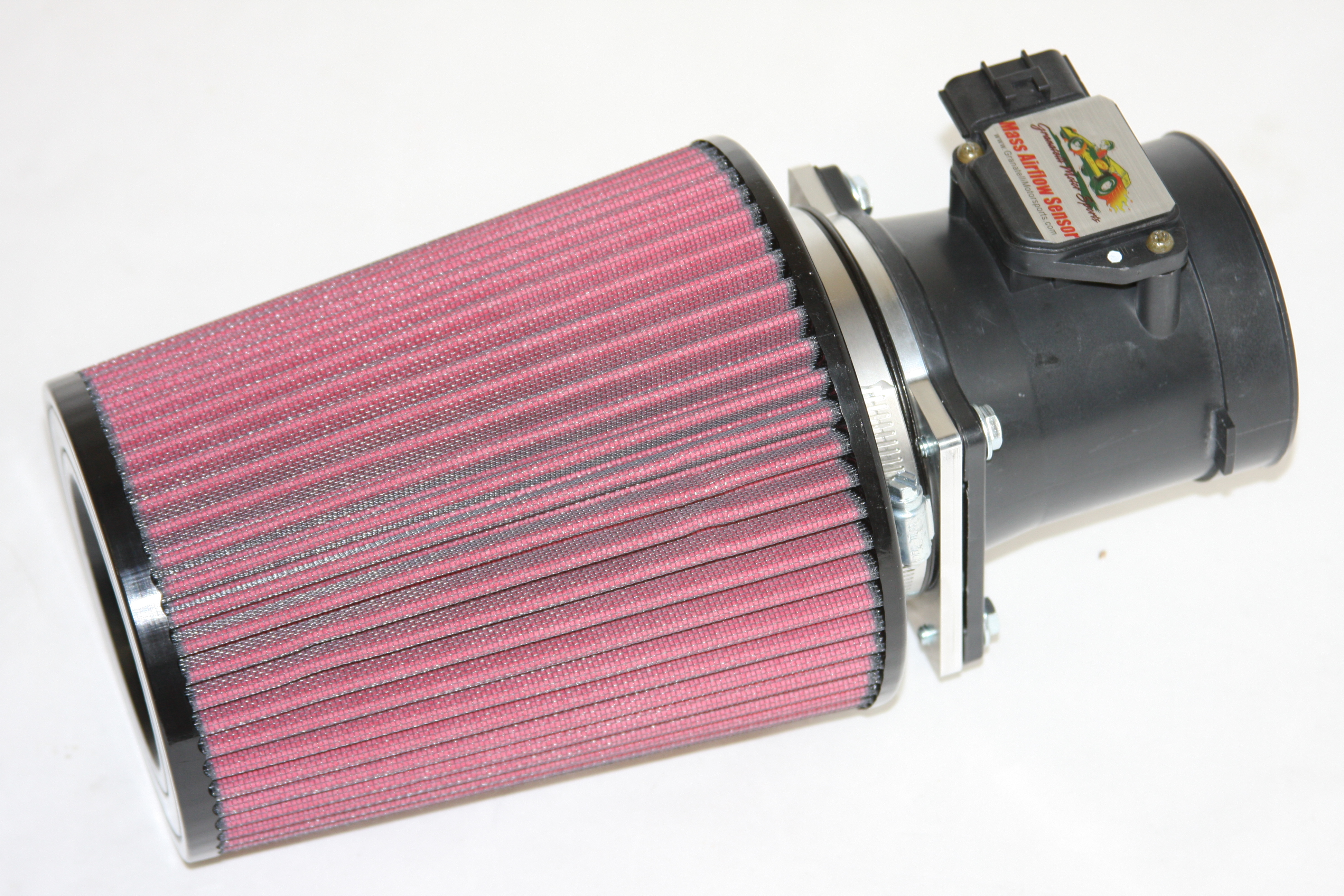 2003-2004 Mustang Granatelli MAF,  Mach 1 - 4.6L w/24lb. Inj. 4V with Air Filter