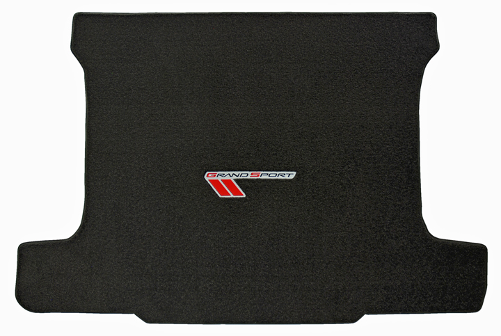 Grand Sport Corvette Embroidered Cargo Mat 2010 and Up