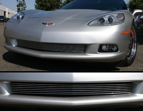 2005 and Up, C6 Corvette Billet Front Grill