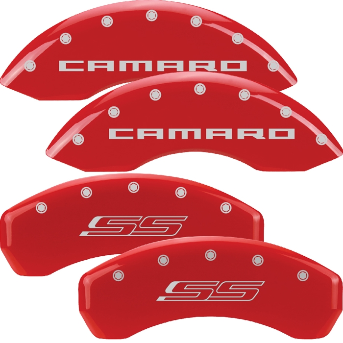 2010-2014 Camaro Color Matched Caliper Covers SS Model (Brembo Brakes) Camaro & SS Script