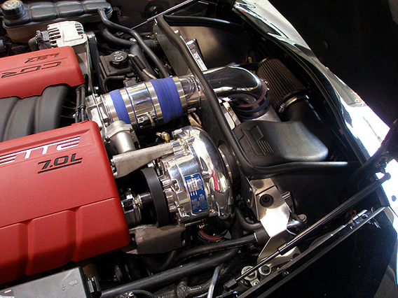 C6 and Z06 Corvette Superchargers, and Turbos systems