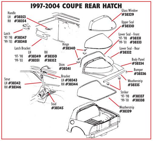 Corvette parts, Interior, oem, replacement, GM parts, brackets ...
