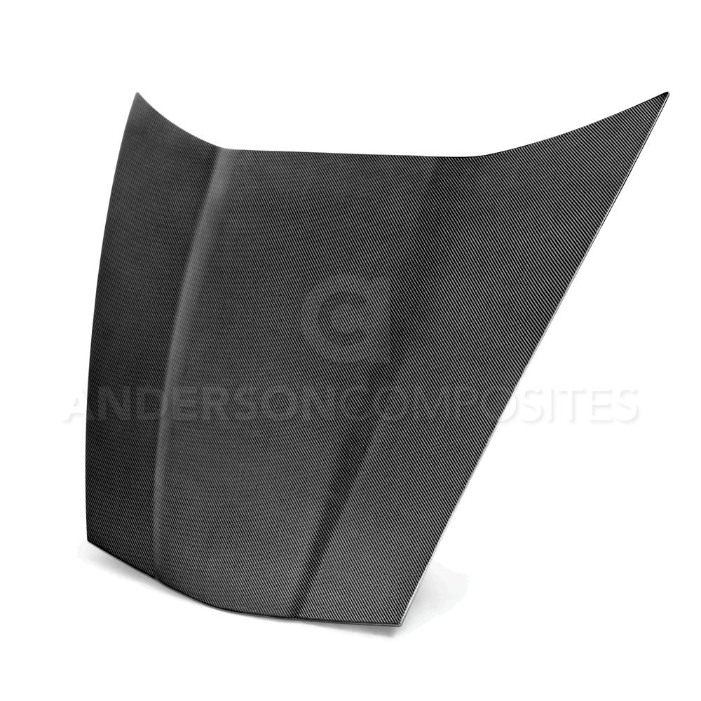 C6 Corvette 2005-2013 Real Carbon Fiber OE Style Rrplacement Hood