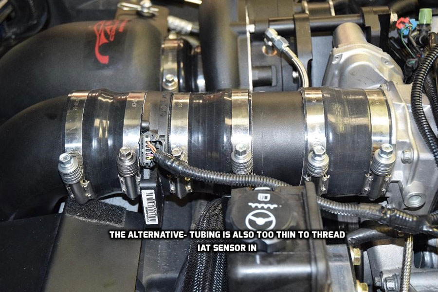 A&A MAF Girdle, for Supercharged, Standard or Methanol injected C5 and C6 Corvette, Standard Length