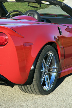 ACI Z06 Corvette Rear Right Quarter Panels for C6 Corvette