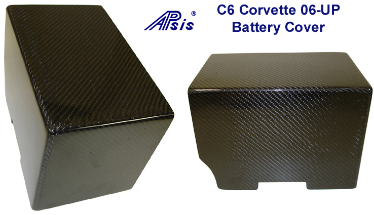 Real Carbon Fiber,  C6 Corvette, Battery Cover