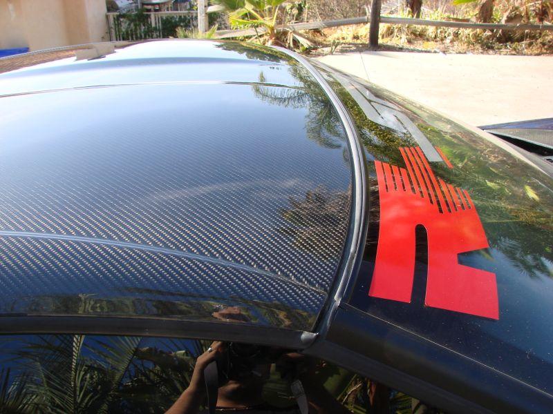 C6 Corvette Carbon Fiber Replacement Roof Top Panel