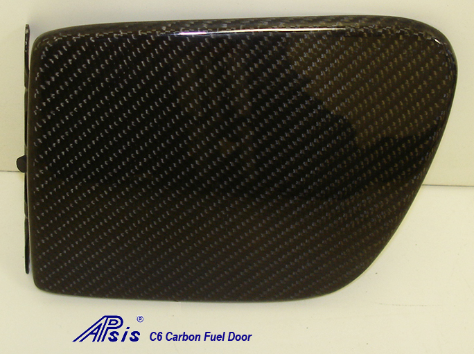 Real Carbon Fiber, C6 Corvette, Fuel Filler Door