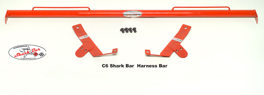 Corvette C6 & Z06, ZR1, Grand Sport Sharkbar Harness Mounting Bar Only 2005-2013 w/ GM Interoir Panels