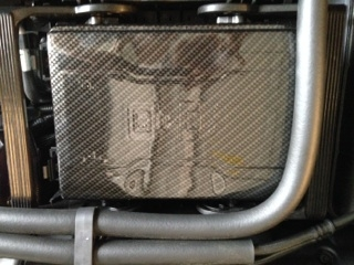 c7 corvette, custom hydrocarboned, painted, fuse box cover, direct  replacement gm (
