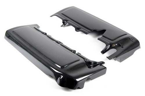 2005-2010 Ford Mustang Carbon Fiber Fuel Rail Cover/Pair